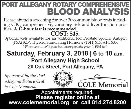 2-3 Comprehensive Blood Analysis