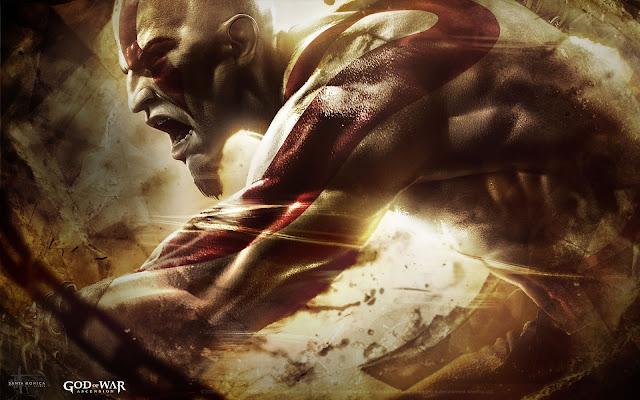 Kratos charging - God of War : Ascension