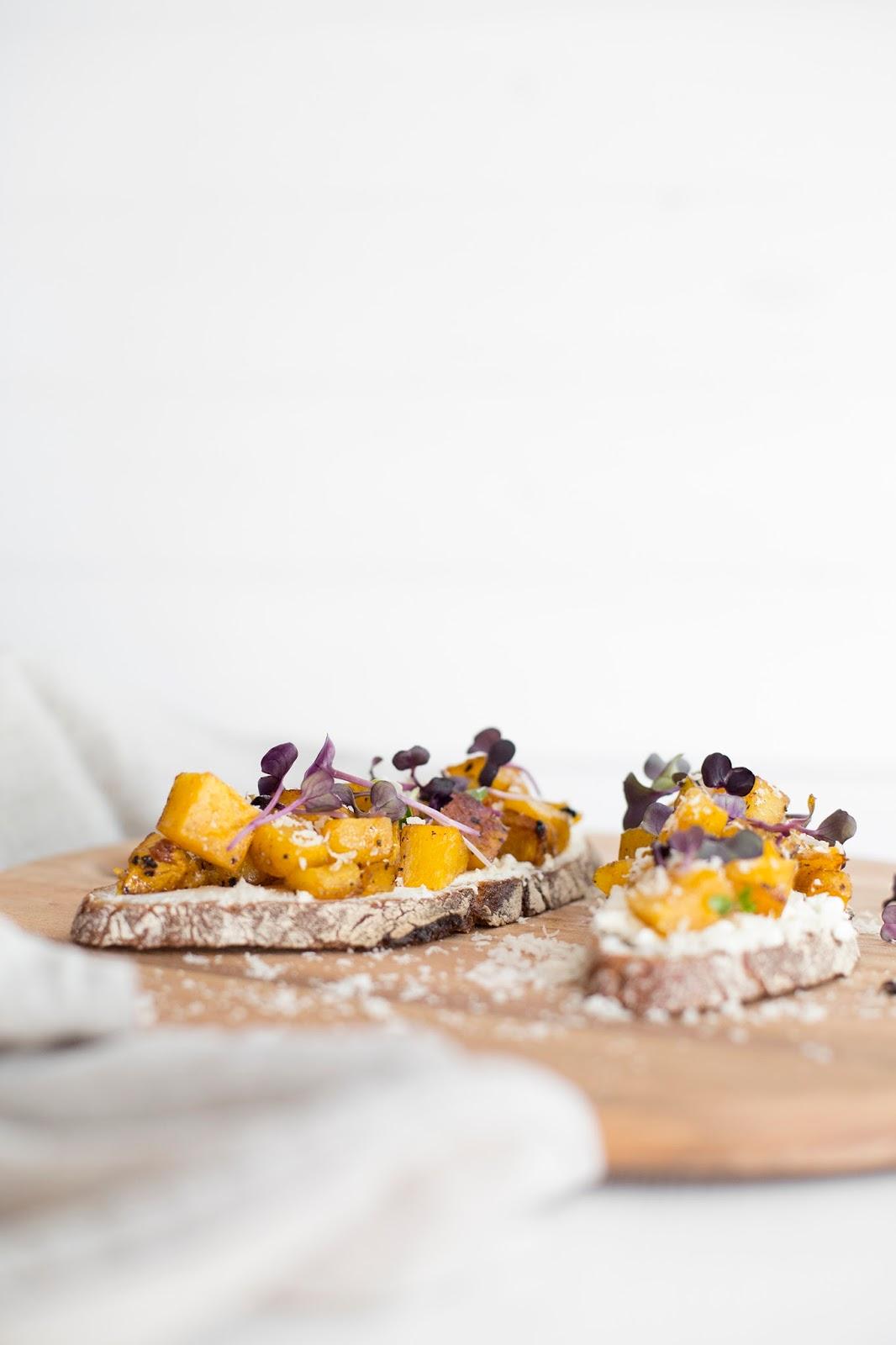 Salty Bread mit Butternut-Kürbis