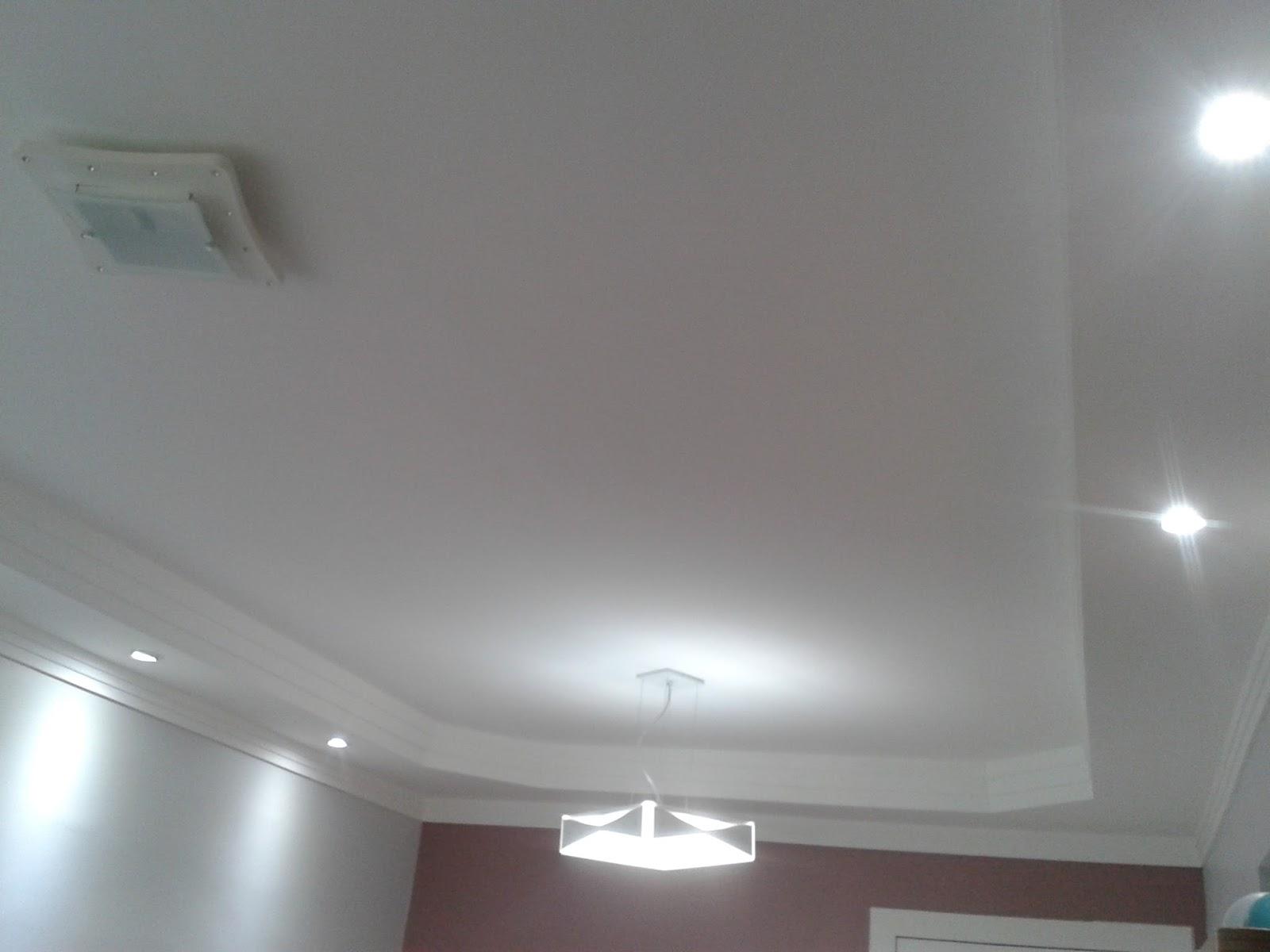 Gesso Na Sala Pequena ~  modelo de sanca de gesso pa ra sala que usei em meu apartamento
