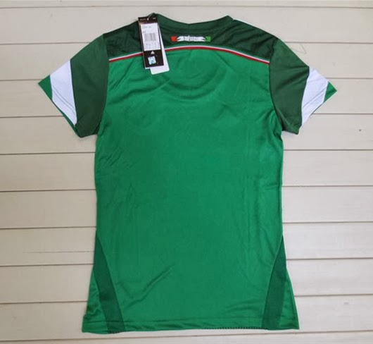 Jersey Ladies Meksiko WC Home 2014