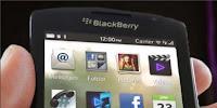 salah satu tampilan dari BlackBerry 10