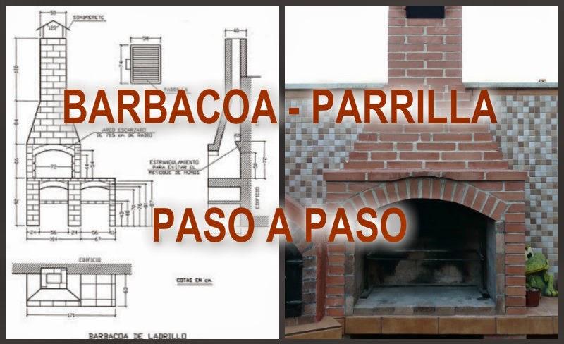 Barbacoa con chimenea - Como construir una barbacoa ...