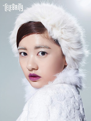 Jung So Min - The Celebrity Magazine January Issue 2014
