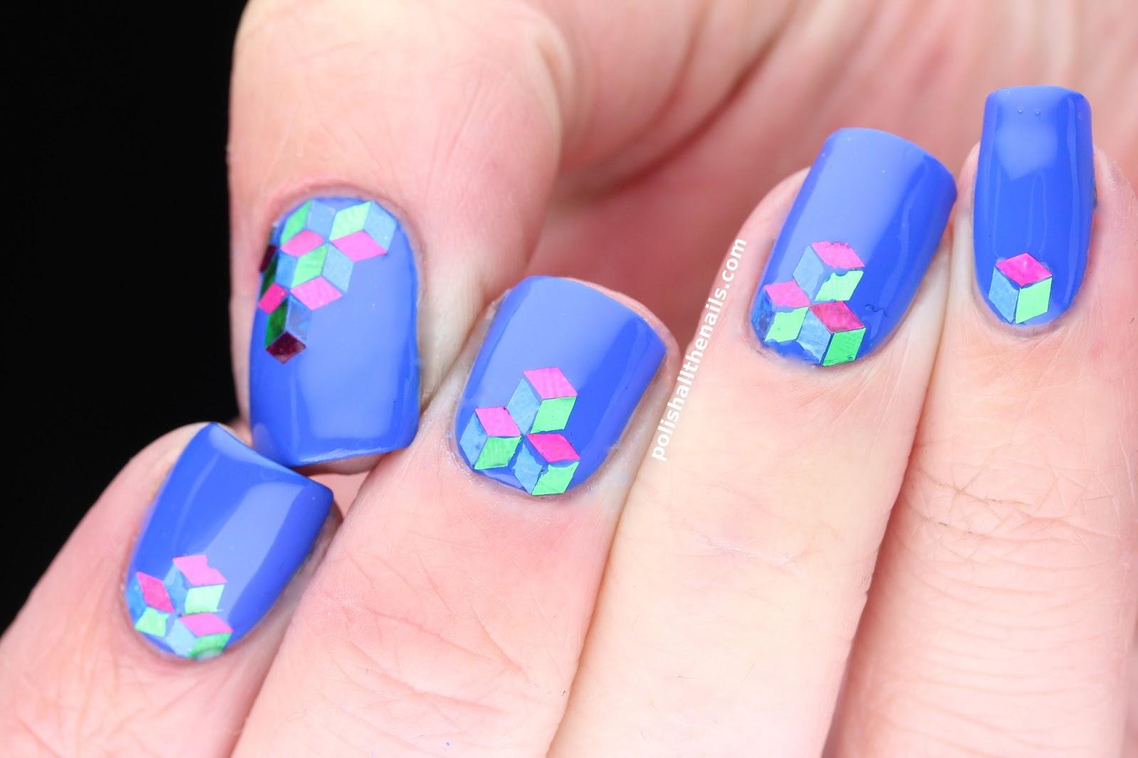 Летний дизайн ногтей, яркий летний маникюр с цветами