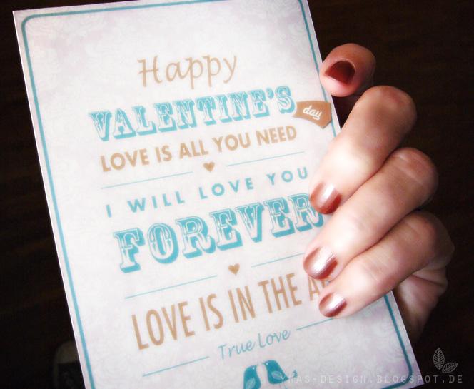 Vintage Cards, Valentine's, Ynas Design