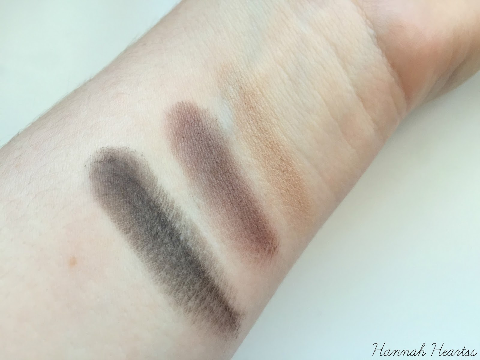 Collection Brow Kit Swatches