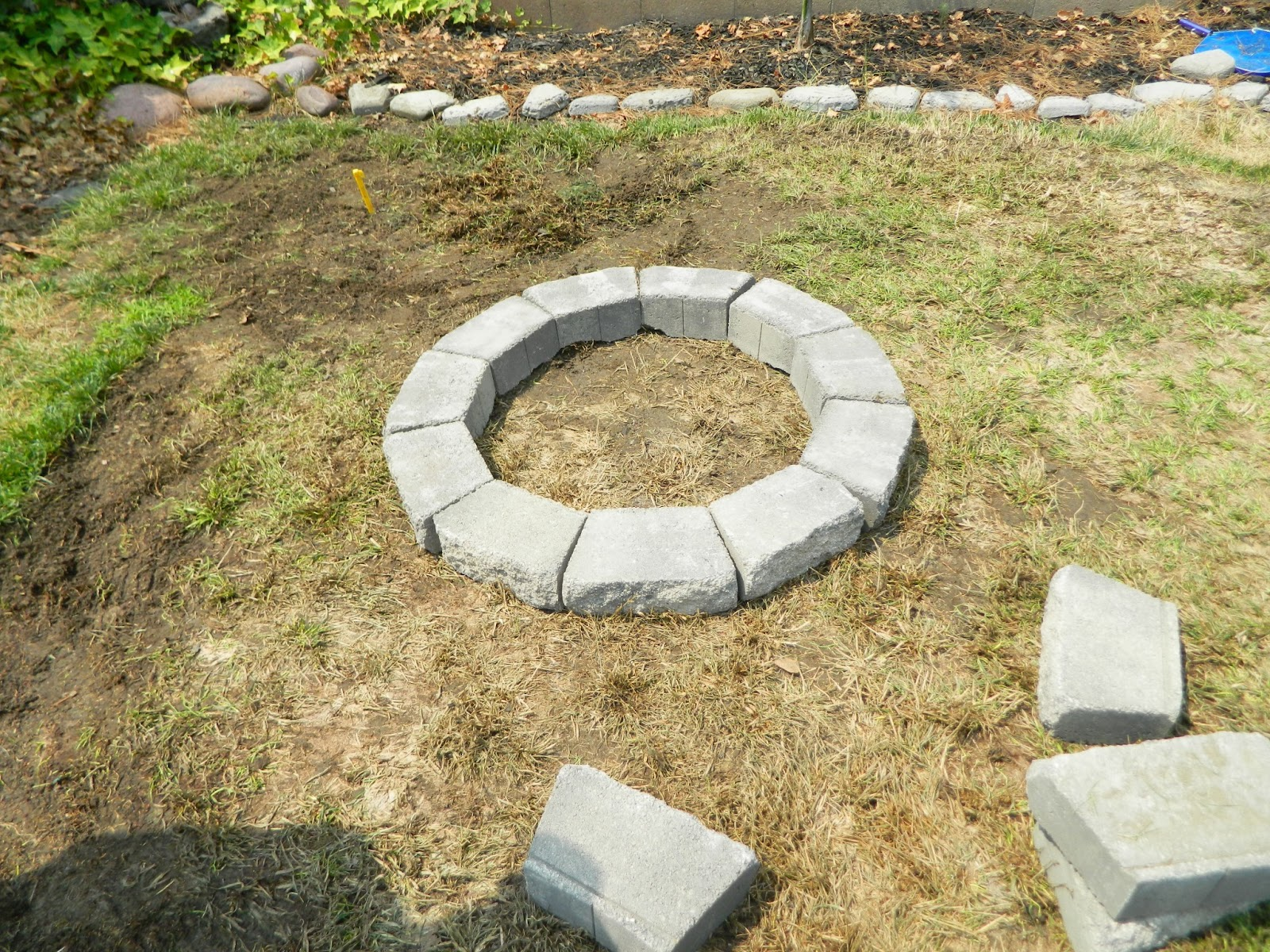 hawes mom how to build a fire pit. Black Bedroom Furniture Sets. Home Design Ideas
