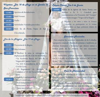 festividad Virgen Alegria www.angustiasysoledad.com