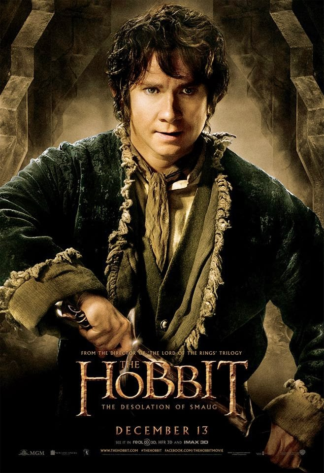 El Hobbit: la Desolación de Smaug - poster final Bilbo