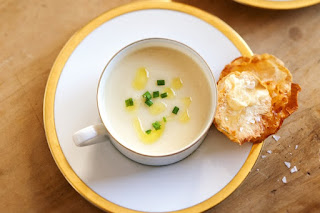 Cream of celeriac soup Recipe