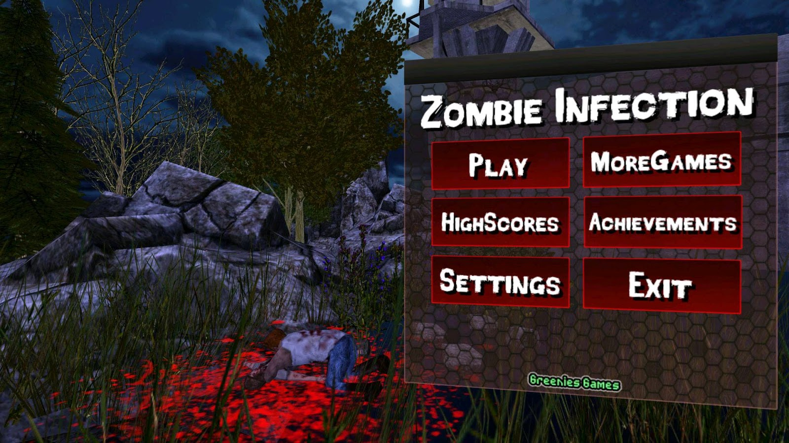 Zombie Infection (ad free) Apk v0.4 + Data Full