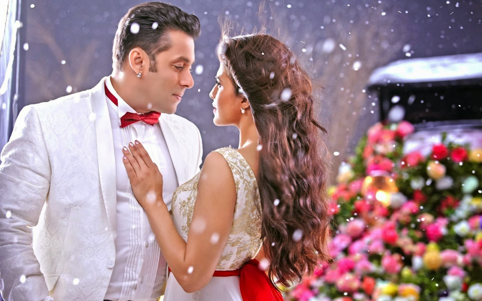 Kick Movie Romantic Wallpaper – Salman Khan, Jacqueline Fernandez