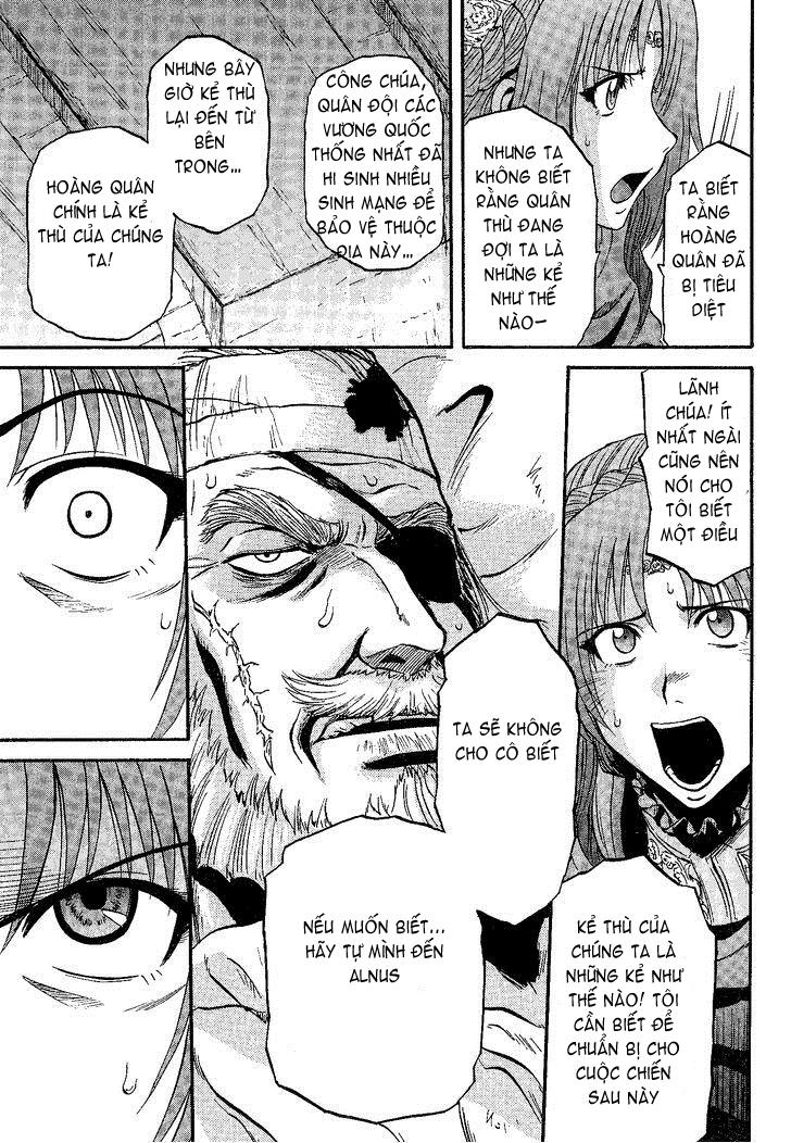 Gate – Jietai Kare no Chi nite, Kaku Tatakeri chap 8 Trang 20 - Mangak.info