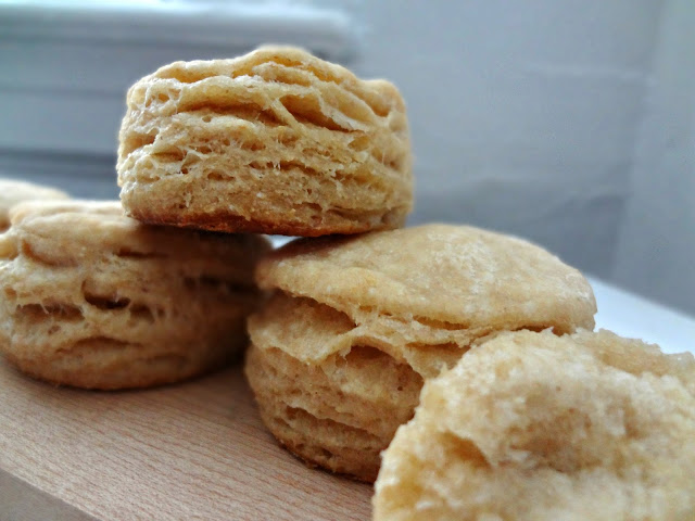 The Cooking Actress: Extra Flaky Biscuits