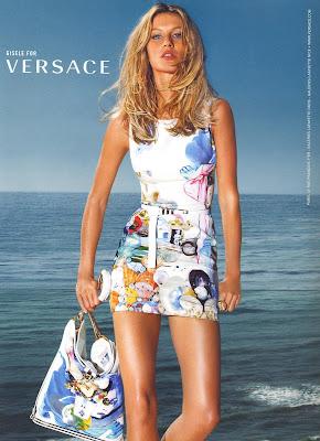 Gisele Bündchen na Versace