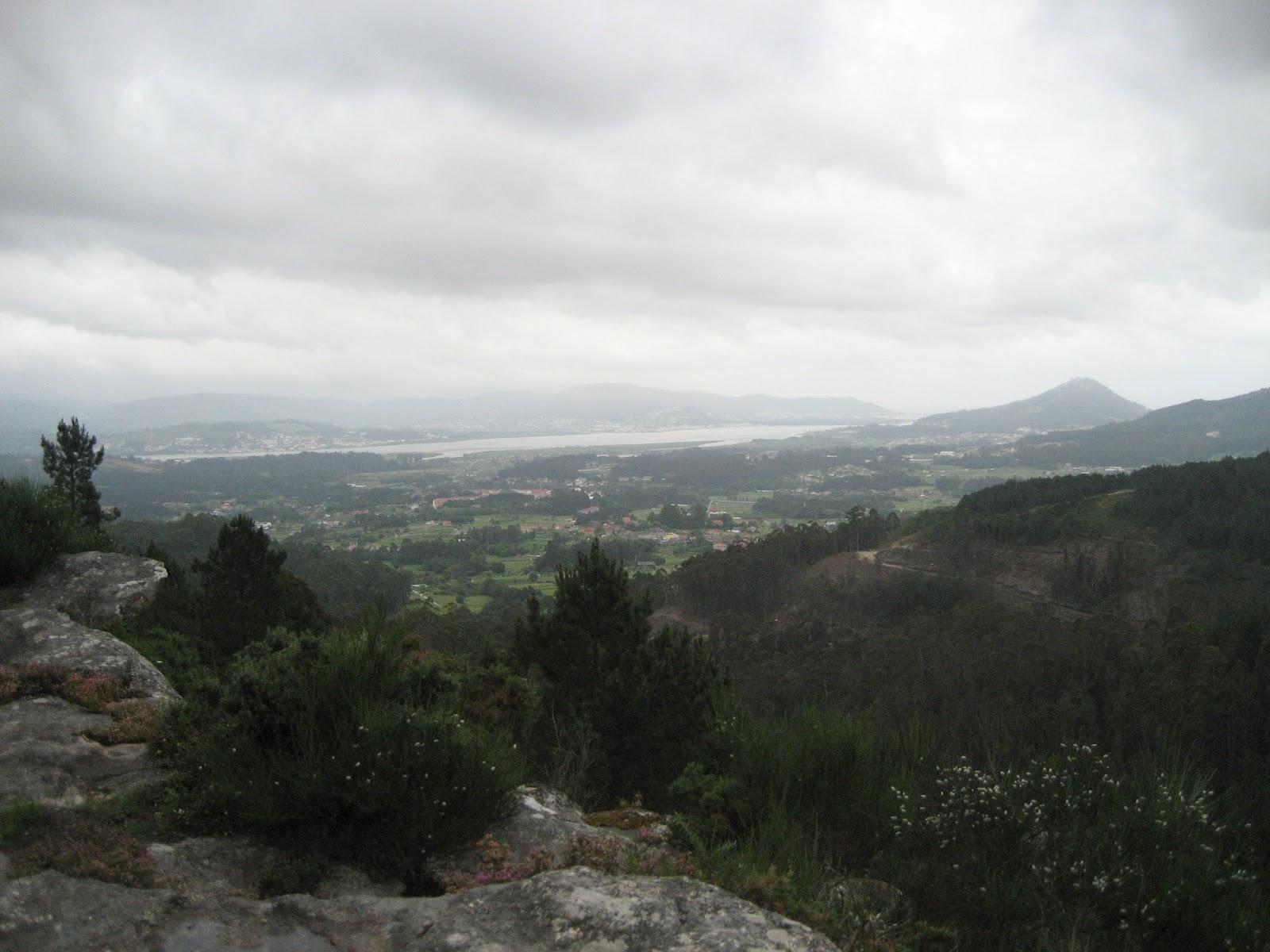 Vistas del río Miño en O Rosal