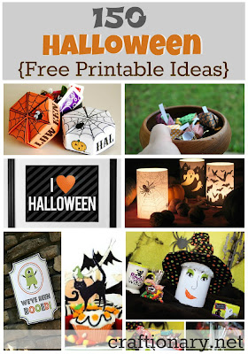 150 Halloween Free Printable Ideas
