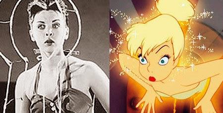 la persona real con quien Disney se inspiró en crear Campanilla