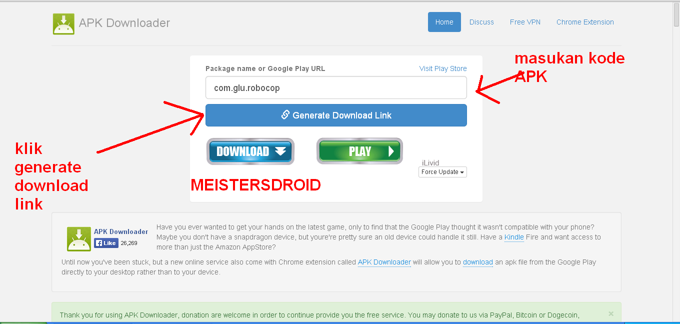 Cara Download APK Via PC Di Google Play