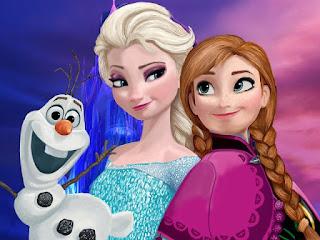 Gambar Elsa dan Anna Frozen wallpaper 11