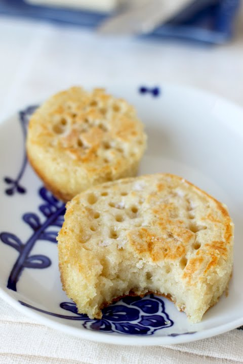 Always With Butter: English Crumpets