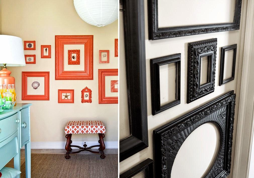 Rosinha melo molduras de quadros na parede - Molduras para paredes ...