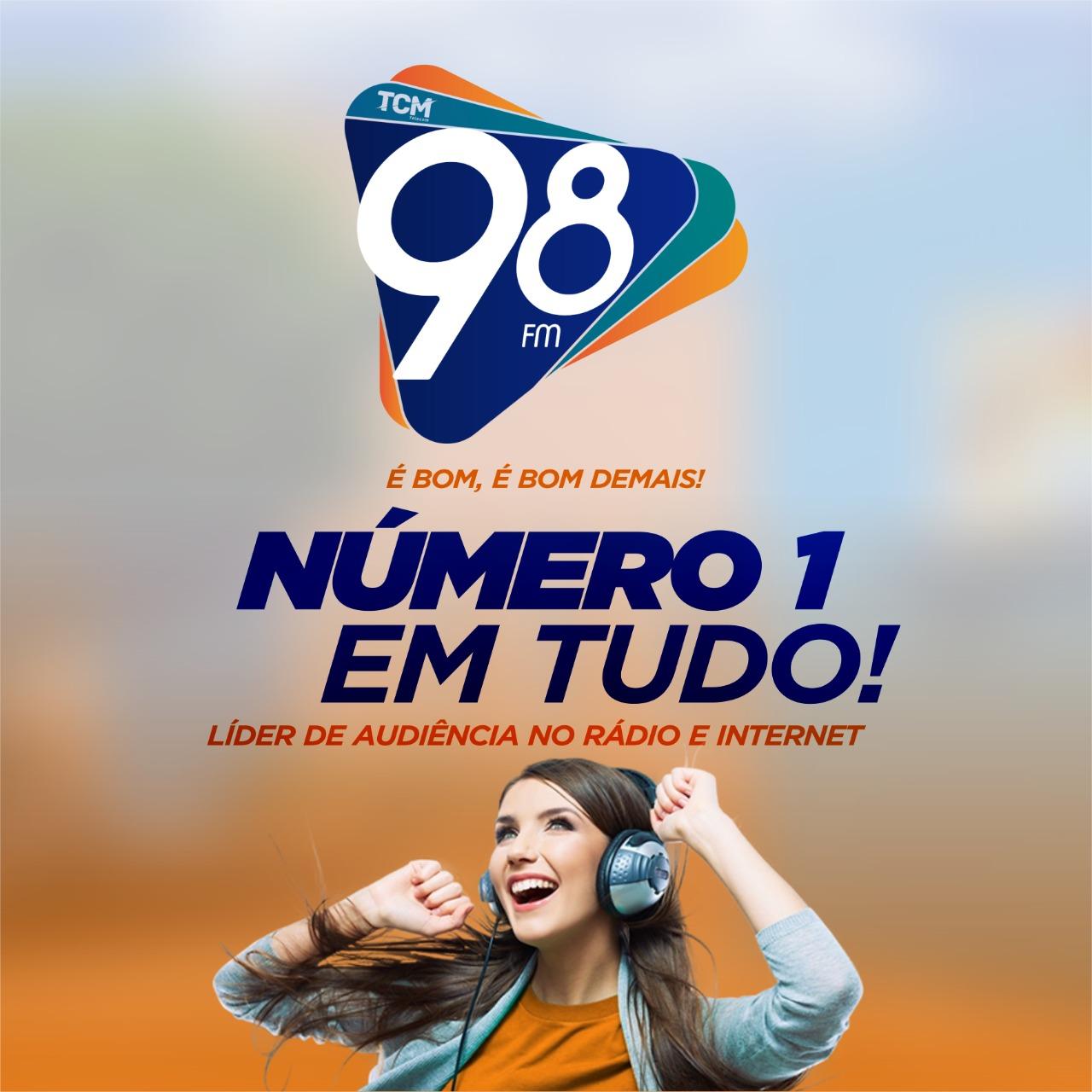 98 FM é bom, é bom demais!