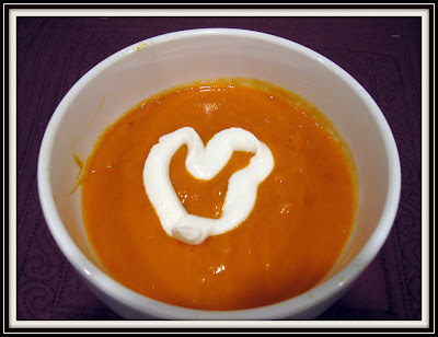 Spiced Moroccan Carrot Soup