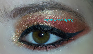 Gryffindor eye look