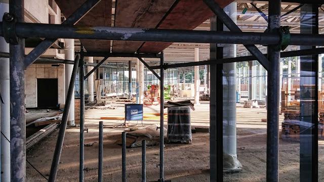 Baustelle Gesundbrunnen, Neubau Empfangsgebäude, Fertigstellung 2014, 13357 Berlin, 06.07.2014