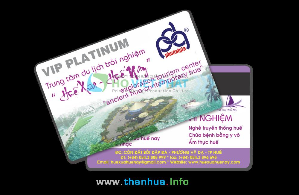VIP Card Platinum Của Trung Tâm Du Lịch