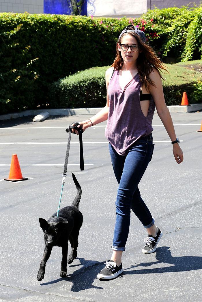 Kristen Stewart Booty in Jeans, LA
