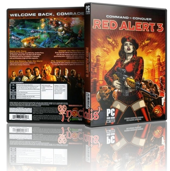 Download Red Alert 3 Full Crack Patch 1 link duy nhất - Game chiến thuật hay