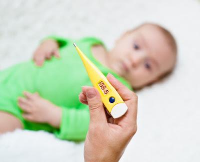 imagen temperatura corporal bebé