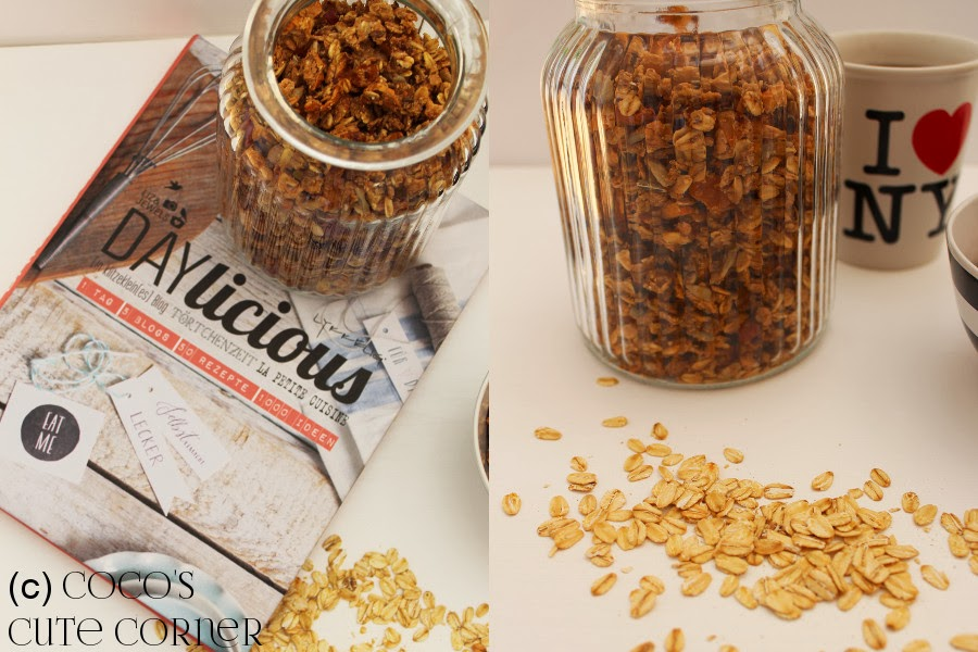 Granola with Apricot and Apples