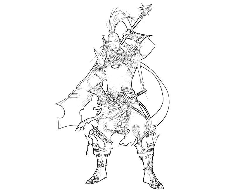 printable-atlantica-swordman-armor-coloring-pages