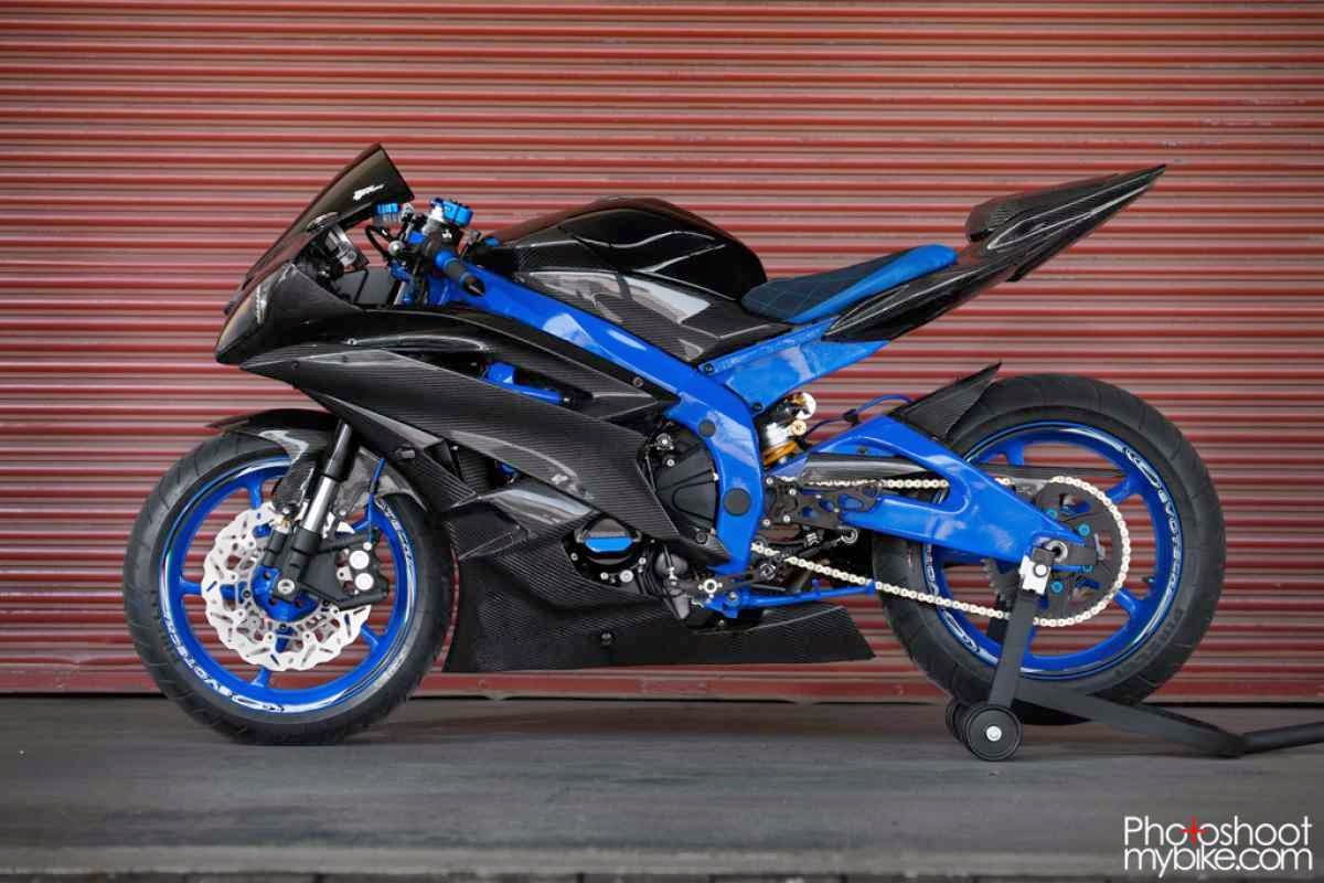 Gallery Foto Motor Yamaha YZF-R6 2007 Modifikasi Keren