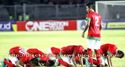 TIMNAS INDONESIA U19 SUJUD SYUKUR
