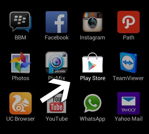 Cara Menghapus Aplikasi Path Talk - Android - Buka Play Store