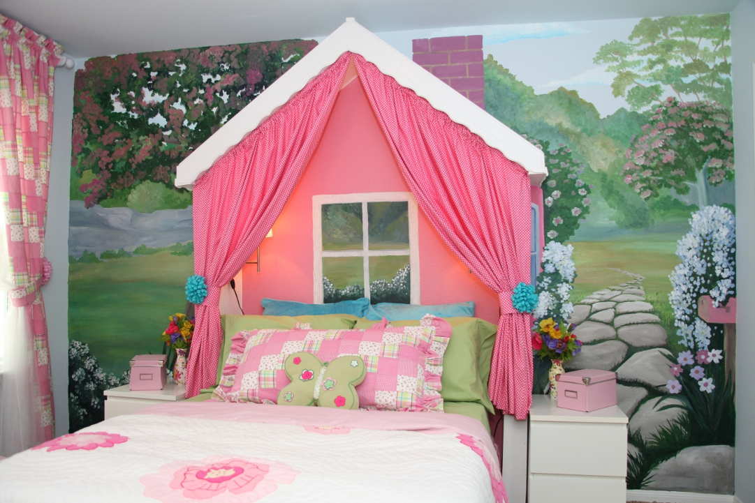 Little Cottage Girls Room Design Dazzle