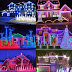 Merrily Caroling Christmas Houses