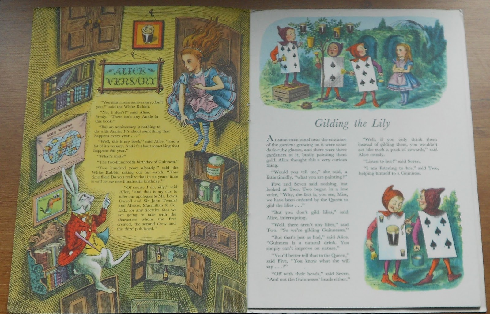 "Dr Book #17 ""Alice Versary - The Guinness Birthday Book"" from 1959"