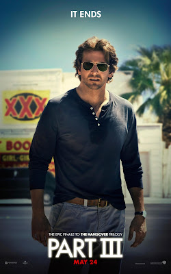 "The Hangover Part III ""The End"" Character Movie Posters - Bradley Cooper as Phil"