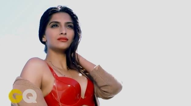 sonam kapoor gq hot photoshoot