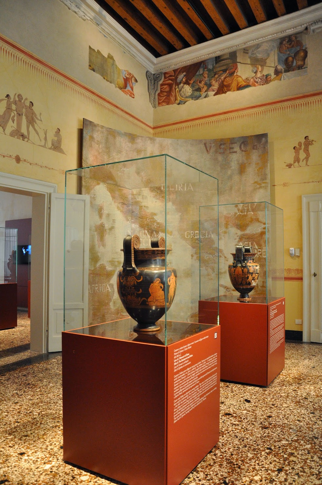 The Ancient Greece section of Gallerie D'Italia in Palazzo Leoni Montanari, Vicenza, Italy