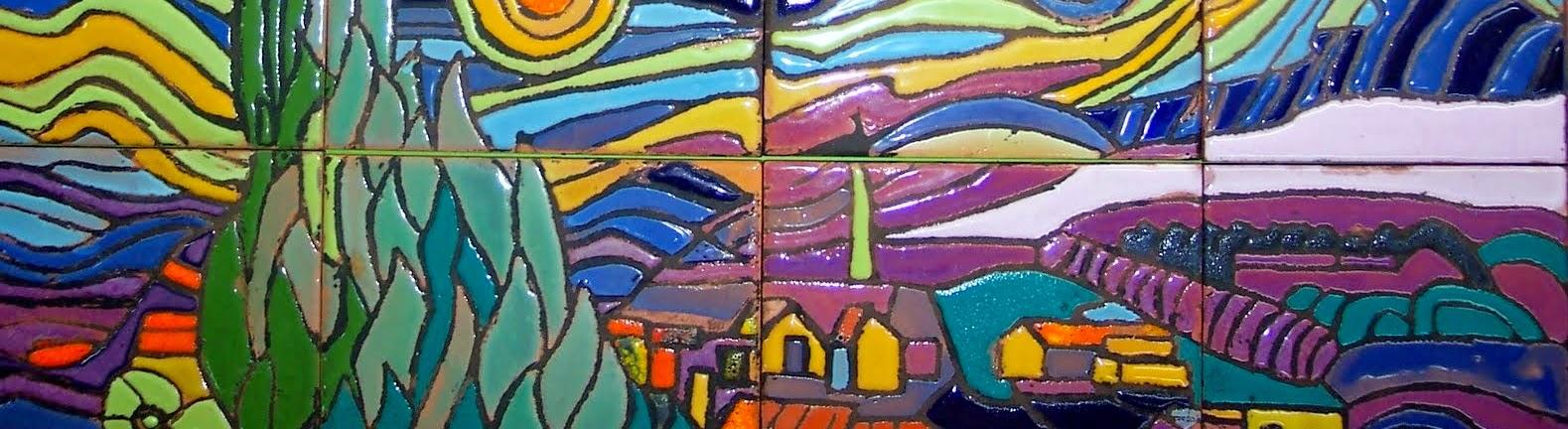 El arte de crear actividades de aula nuestro peque o - Murales de ceramica artistica ...