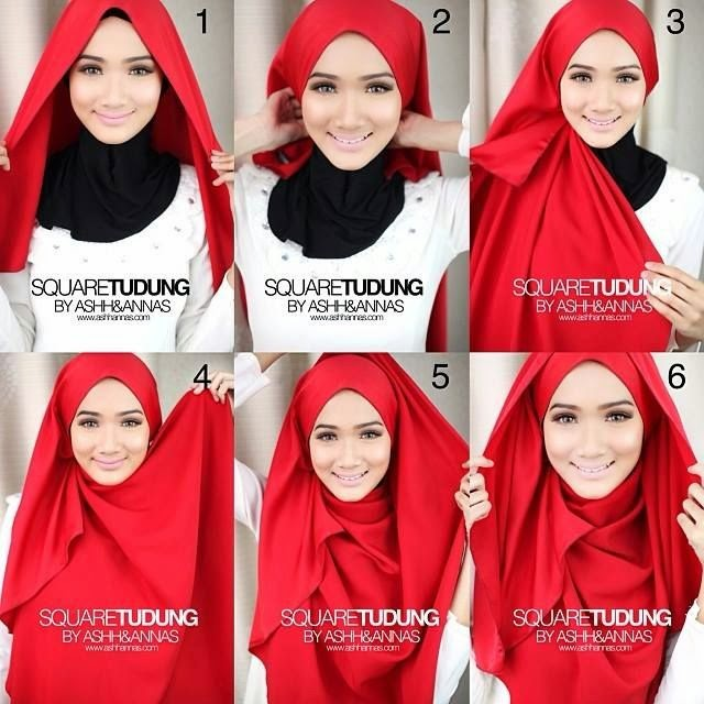 Hijabi Style Hijab Fashion Blog Breezy Draped Summer Square Hijab Tutorial