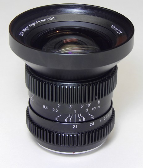 SLR Magic 10mm T/2.1