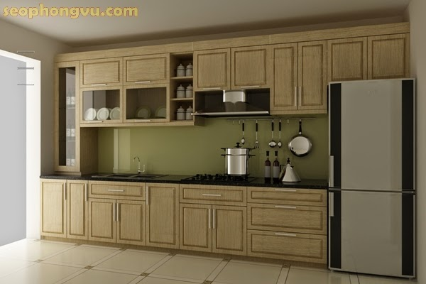 Những mẫu tủ bếp xinh: gỗ, nhôm, inox đẹp sang trọng